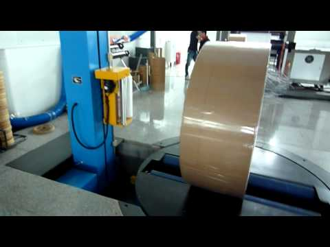 Reel Stretch Wrapping Machine