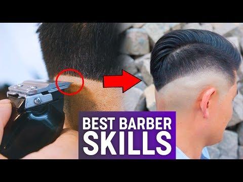 Best Barber Skills 2018   Men's Hairstyle Inspiration
