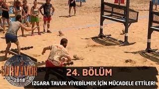 Izgara Tavuk Yiyebilmek İçin Mücadele Ettiler! | 24. Bölüm | Survivor 2018