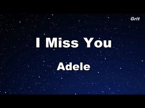 I Miss You - Adele escrita como se canta | Letra e tradução de música.  Inglês fácil