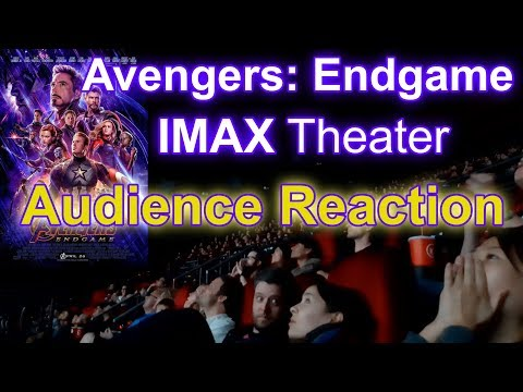 Download Avengers: Endgame IMAX Theater Reaction Opening Day BEST PARTS HD Mp4 3GP Video and MP3