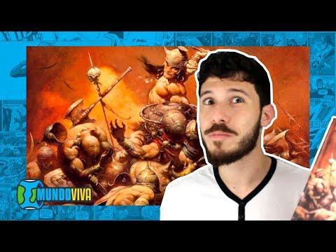Livrão DESSE Conan, o Bárbaro - Livro 1 || Mundo Viva!