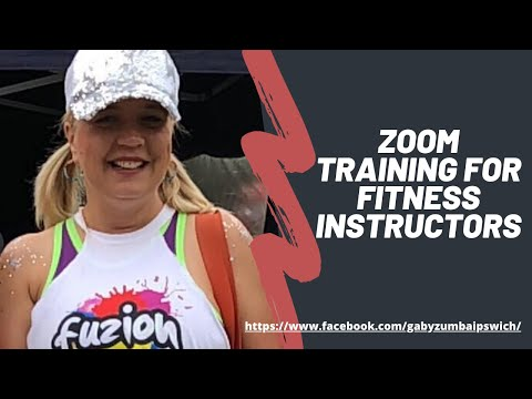 Zoom Training for Fitness & Zumba Instructors - YouTube