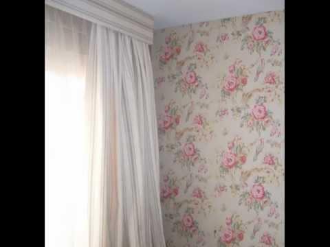 papel-pintado-con- flores