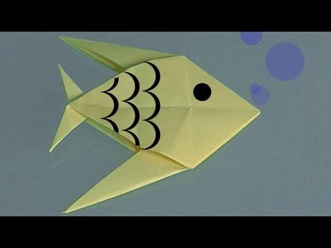 Μάθετε να φτιάχνετε ένα ψάρι οριγκάμι