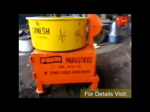 Mobile Pan Mixer 100 Kg
