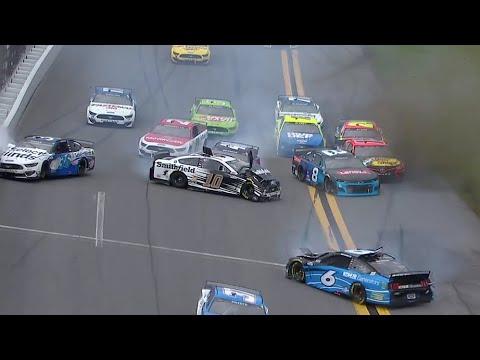 NASCAR 2021 DAYTONA500 レースハイライト動画