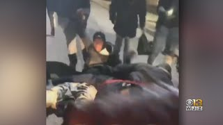 'I Am Appalled' | Officials Outraged After Baltimore Police Sergeant Kicked By Group Of People