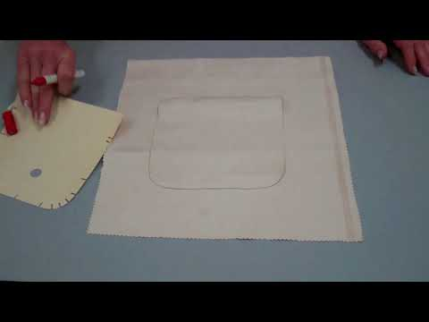 Elegante Taschen Variante - Tasche blind aufnähen ohne Futter - Lilo Siegel
