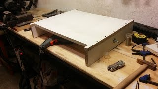 3 Axis CNC Router Build Part 1  The Base