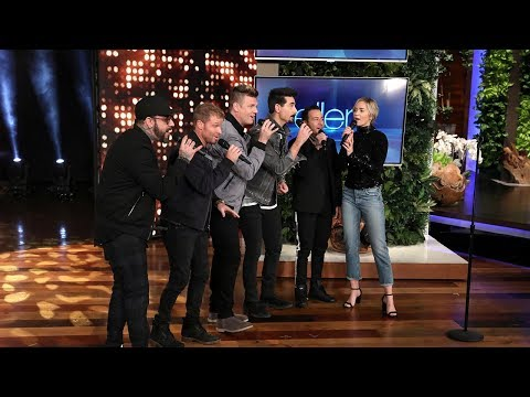 Emily Blunt Gets a Backstreet Boys Surprise for an Unexpected Duet