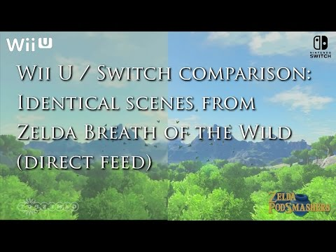 Comparativa Breath of the Wild: Switch Vs. Wii U