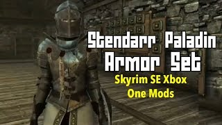 Stendarr Paladin Armor Set | By NordwarUA Skyrim SE Xbox One Mods