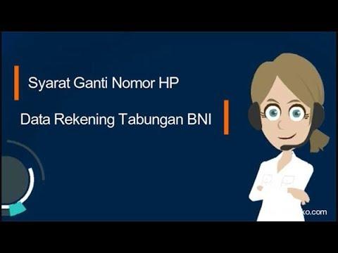 Syarat Ganti Nomor HP Data Rekening Tabungan BNI