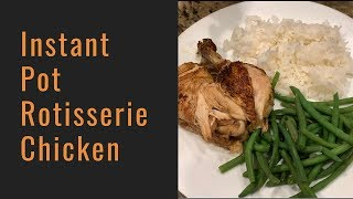 How to Make Instant Pot Whole Chicken (Better than Costco's)