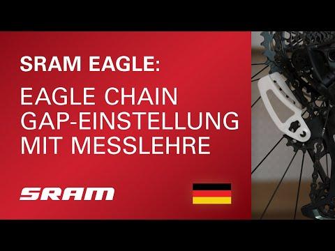 Eagle Chain Gap-Einstellung mit Messlehre
