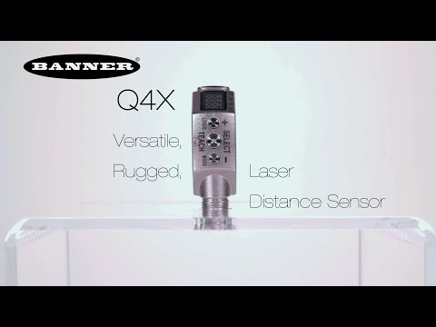 Q4X Versatile, Rugged Laser Distance Sensor Product Video