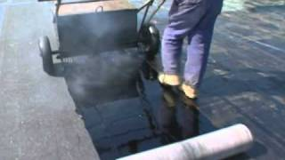 Hot Applied Modified Bitumen Roofing System    Application Excellence