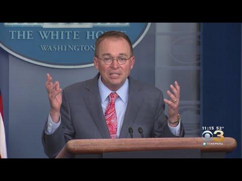 White House Chief Of Staff Mick Mulvaney Indicates Quid Pro Quo Involving Ukraine