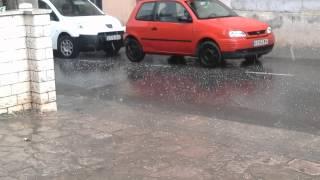 preview picture of video 'Pedregada,Granizada, Hail storm Igualada 2014 2'