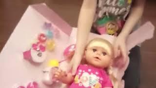Я распоковавою куклу мойей мечты
