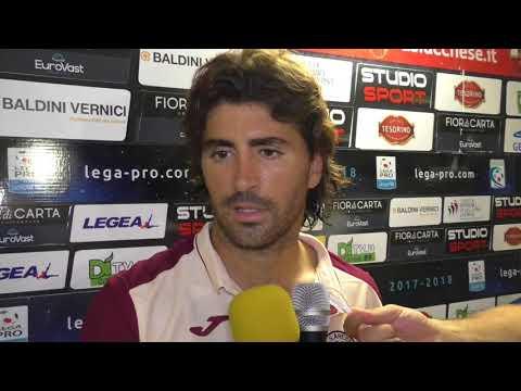 Lucchese-Arezzo 4-2 dcr, intervista a Mattia Serrotti
