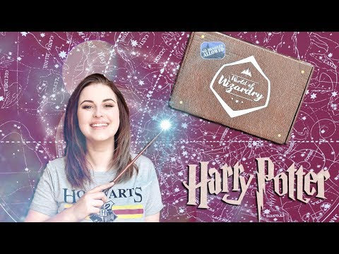 HARRY POTTER GEEK GEAR APRIL 2018 UNBOXING | Book Roast