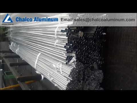 Perfiles de aluminio de grado marino / barra T de aluminio / tubo redondo de aluminio