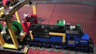 preview picture of video 'unboxing LEGO City 60052 Pociąg towarowy rozpakowanie'