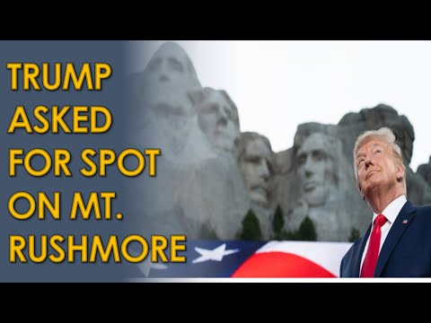 Donald Trump SERIOUSLY asked South Dakota Governor Kristi Noem to be added to Mount Rushmore
