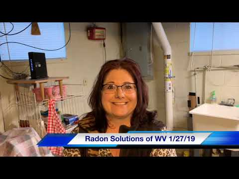 Another testimonial from a very satisfied customer! Radon was 25 pCi/l and was reduced down to 0.3 pCi/l...