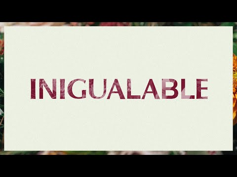 Inigualable (No One Beside)