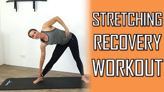 20 Minute Low Impact Full Body Recovery & Stretch Workout – No Repeating Exercises by FitnessType