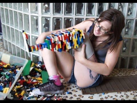 Se fabrica una prótesis con piezas de Lego