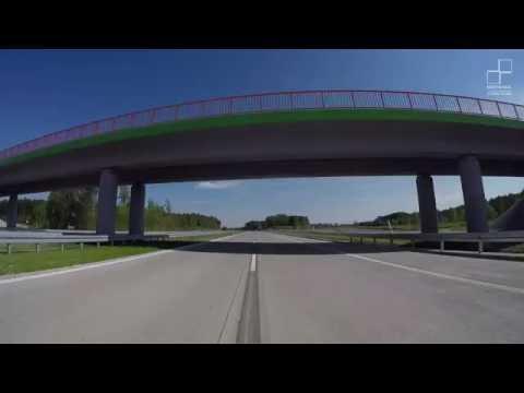 Nowo wybudowany odcinek autostrady A1