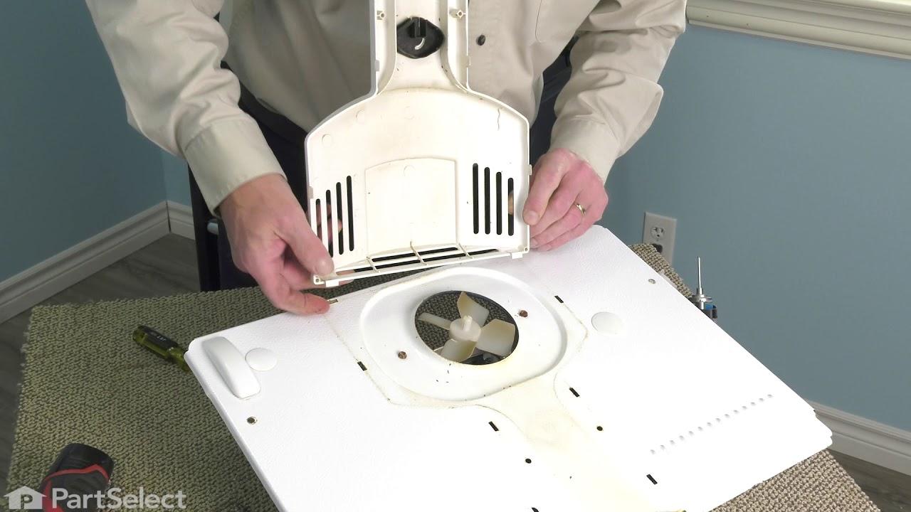 Replacing your Frigidaire Refrigerator Evaporator Fan Motor - 120V 60Hz