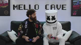 The Champ Is Here! Mello and Harley Jump In The Ring With John Cena | Gaming with Marshmello