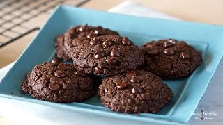 Healthy Chocolate Cookies (Nut-free, Grain-free, Gluten-free)