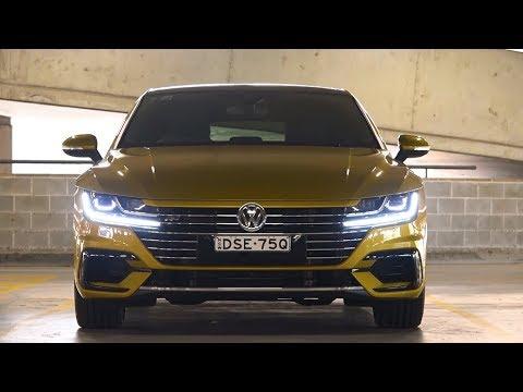 Volkswagen Arteon technology showcase