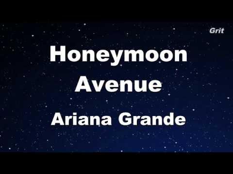 Honeymoon Avenue - Ariana Grande Karaoke【No Guide Melody】