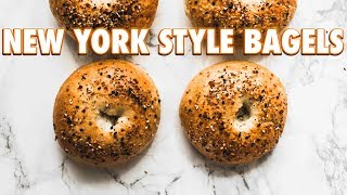 How To Make New York Style Bagels