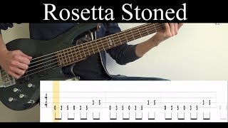 Rosetta Stoned (Tool)   Bass Cover (With Tabs) By Leo Düzey