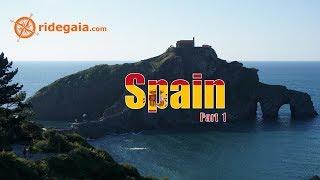 Ep 84 - Spain (part1) - Motorcycle Trip Around Europe