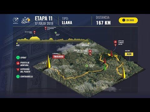 EN VIVO: Siga la etapa 11 del Tour de Francia