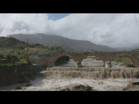 Μετράει της πληγές της η Κρήτη μετά το πέρασμα της κακοκαιρίας