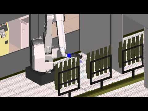 Download Fanuc Robotics New P 50ib Paint Robot Paints Parts