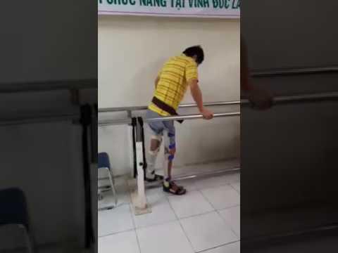BN Lê Văn Lên đã tự đi lại được.