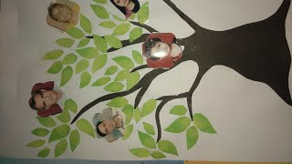How To Make A Family Tree For Kids|easy Tutorial|step By Step