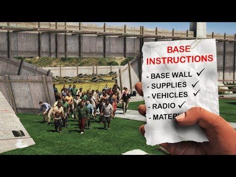 BUILDING the ULTIMATE BASE! (GTA 5 - Zombie Apocalypse)