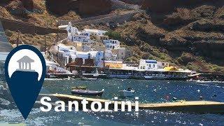 Santorini | Oia and Amoudi Port